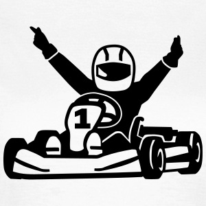 Kart T-Shirts - Frauen T-Shirt