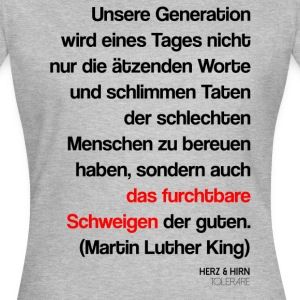 Luther King - Frauen T-Shirt