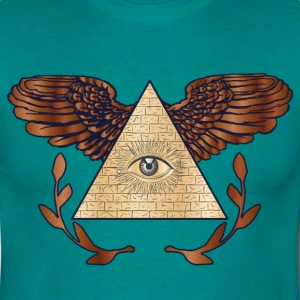 Illuminati T-Shirts - Herre-T-shirt