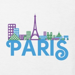 Skyline Paris Shirts - Kids' Organic T-shirt