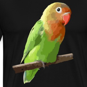 colorful parrot T-Shirts - Men's Premium T-Shirt