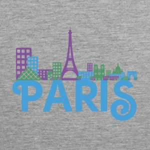 Skyline Paris Tank Tops - Men's Premium Tank Top