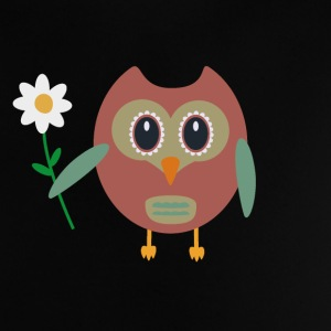 OWL with flower Baby Shirts  - Baby T-Shirt