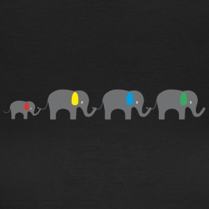 Elephant family T-Shirts - Women's T-Shirt