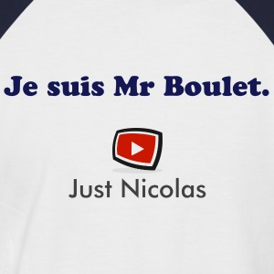 Just Nicolas Tee shirts - T-shirt baseball manches courtes Homme