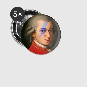 mozart rocks Badges - Badge moyen 32 mm