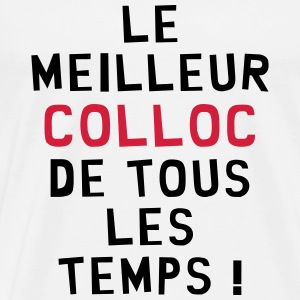 Coloc / Colocataire / Collocatrice / Amis / Appart Tee shirts - T-shirt Premium Homme