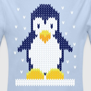 Christmas t shirts-cool penguin Baby Bodysuits - Longlseeve Baby Bodysuit