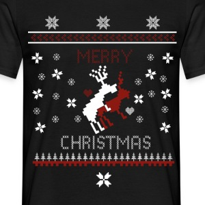 Merry Fuck Christmas T-Shirts - Men's T-Shirt
