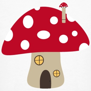 Mushroom House T-Shirts - Men's Organic T-shirt