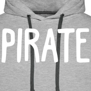 Pirate - Sweat-shirt à capuche Premium pour hommes
