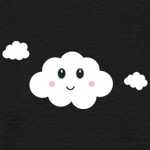 Nuage heureux Tee shirts - T-shirt Homme