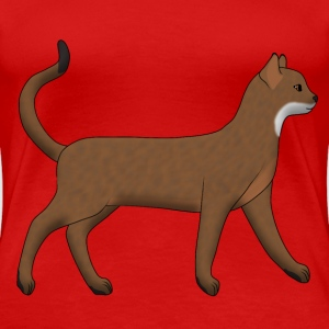 Abyssinian goes T-shirts - Premium-T-shirt dam