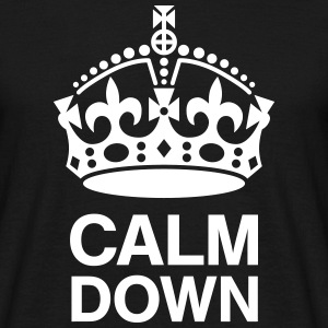 Crown Calm Down T-shirts - T-shirt herr
