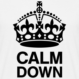 Crown Calm Down T-Shirts - Men's T-Shirt