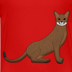 Abyssinian sitting T-shirts - Teenager premium T-shirt