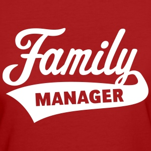 Family Manager T-Shirts - Frauen Bio-T-Shirt