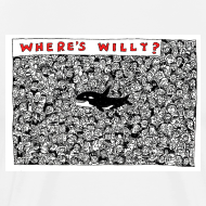 Design ~ Where's Willy T-Shirt Sam Backhouse