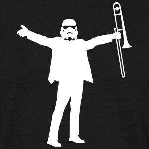 trombone trooper  T-Shirts - Men's T-Shirt