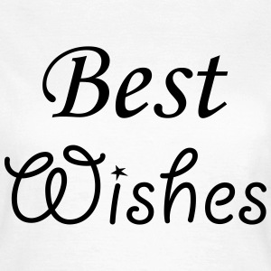 Best Wishes T-Shirts - Frauen T-Shirt