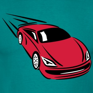 Race car quickly cool T-Shirts - Men's T-Shirt