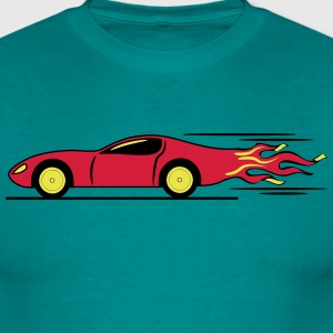 Race Car Racing racing raza Camisetas - Camiseta hombre