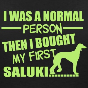 Normal Person - Saluki T-Shirts - Frauen T-Shirt mit V-Ausschnitt