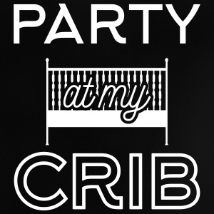 Babydesign: Party at my crib T-shirt neonato - Maglietta per neonato