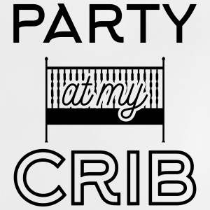 Babydesign: Party at my crib Babytröjor - Baby-T-shirt