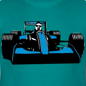Race Car Racing sval T-shirts - T-shirt herr