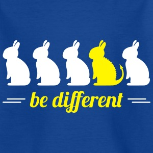 be different lapins Hare Easter bunny bunny Tee shirts - T-shirt Enfant