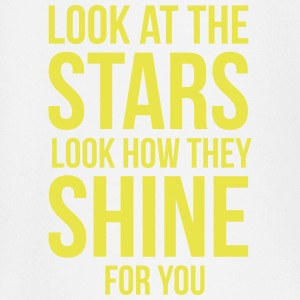 Look at the stars. Look how they shine for you Langermede T-skjorter for babyer - Langarmet baby-T-skjorte