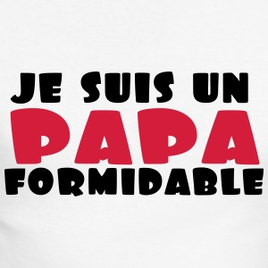 un papa formidable Manches longues - T-shirt baseball manches longues Homme