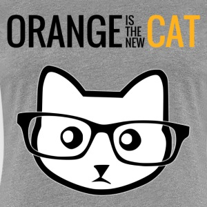 Orange is the new Cat (Damen) - Frauen Premium T-Shirt