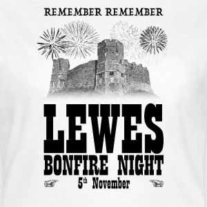 Lewes Bonfire Night T-Shirts - Women's T-Shirt