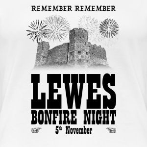 Lewes Bonfire Night T-Shirts - Women's Premium T-Shirt