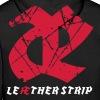 Leaether Strip - Logo 1 : Hoodie - black - Men's Premium Hoodie