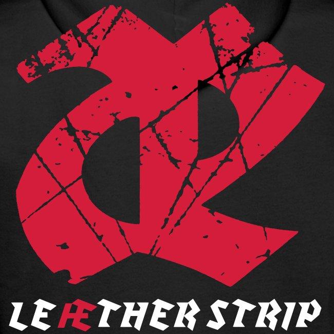 Leaether Strip - Logo 1 : Hoodie - black