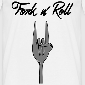 Fork n' Roll - T-shirt Homme
