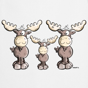 Elk Family  Aprons - Cooking Apron