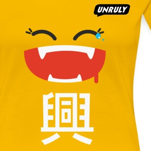 Unruly Joy Yellow Female - Japan - Women's Premium T-Shirt
