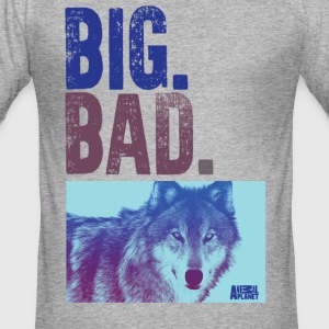 Animal Planet Wolf Men T-Shirt - Men's Slim Fit T-Shirt