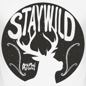 Animal Planet deer Men T-Shirt - Men's Slim Fit T-Shirt