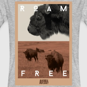 Animal Planet bison herre T-shirt - Organic mænd
