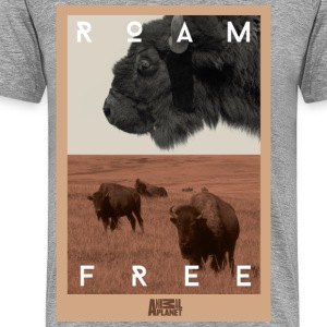 Animal Planet bison Men T-Shirt - Men's Premium T-Shirt
