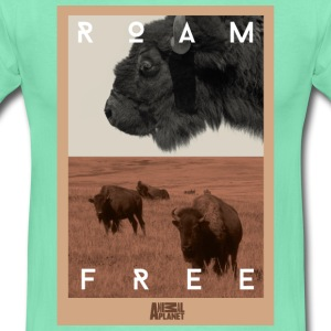 Animal Planet bison T-skjorte for menn - T-skjorte for menn