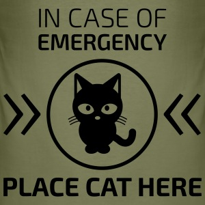 Emergency cat T-Shirts - Männer Slim Fit T-Shirt