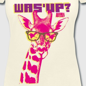 Animal Planet Women T-Shirt Giraffe - Women's V-Neck T-Shirt