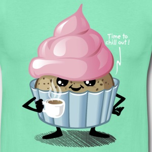 Cupcake chill out - T-shirt Homme