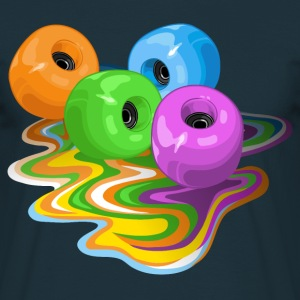 Skateboard wheels - T-shirt Homme
